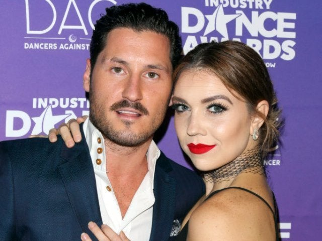 'DWTS' Pro Val Chmerkovskiy Shares Photo of 'Gorgeous Wife' Jenna Johnson While on Honeymoon