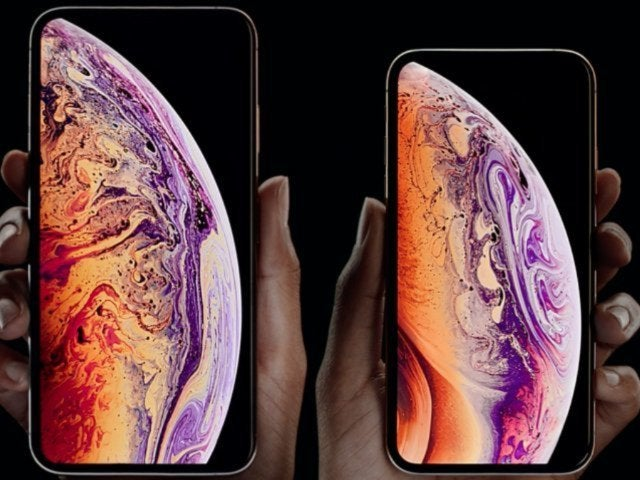 Apple Debuts New iPhone XS and XR