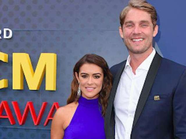 Brett Young Celebrates First Anniversary With Wife, Taylor Shortly After Welcoming Daughter Presley
