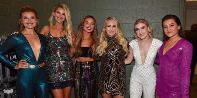 Carrie Underwood Praises Hard Work of Runaway June and Maddie & Tae on Cry Pretty Tour 360