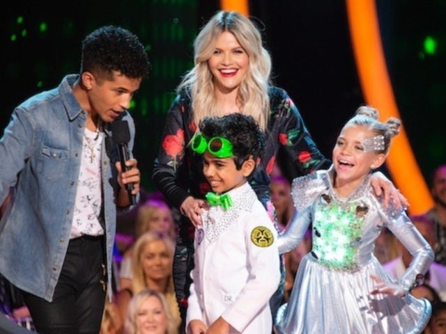 'DWTS: Juniors' Co-Host Jordan Fisher Talks Bonding With Contestants: 'I'm a Proud Papa'