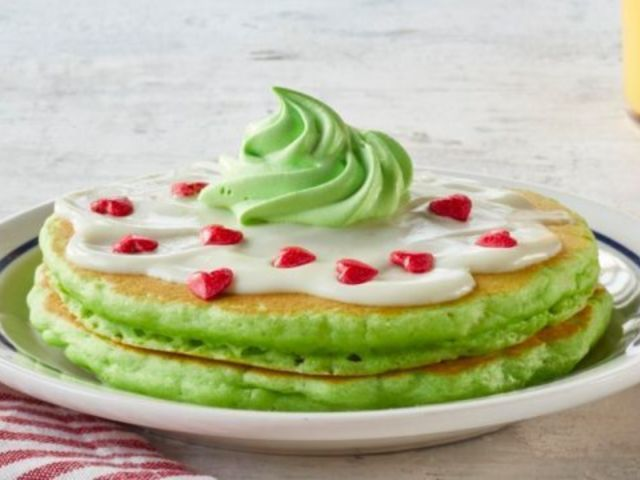 IHOP Has Us Seeing Green With New Grinch-Inspired Holiday Pancakes