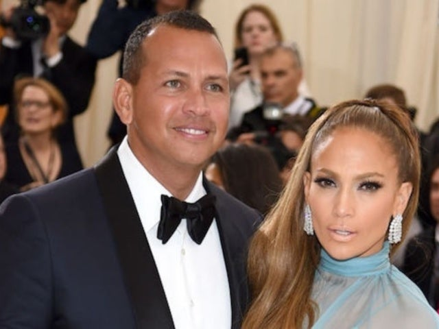 Alex Rodriguez Wears Fiancee Jennifer Lopez's Dress in 'Flip the Switch' TikTok