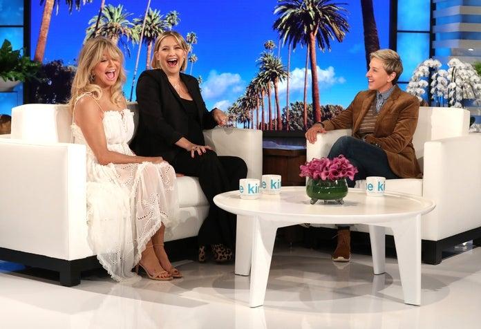 Kate Hudson Ellen DeGeneres