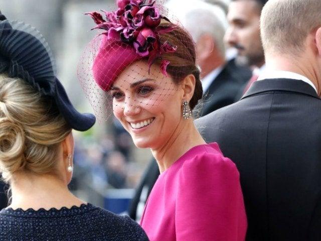 Kate Middleton Had a Near-Miss Wardrobe Malfunction at Princess Eugenie's Wedding