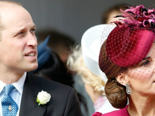 Kate Middleton and Prince William Show Rare Public Affection at Princess Eugenie's Wedding