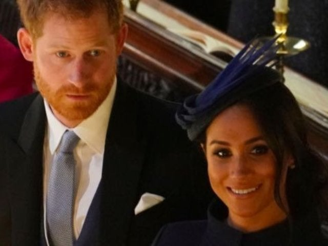Prince Harry and Meghan Markle Arrive in Style to Princess Eugenie's Wedding