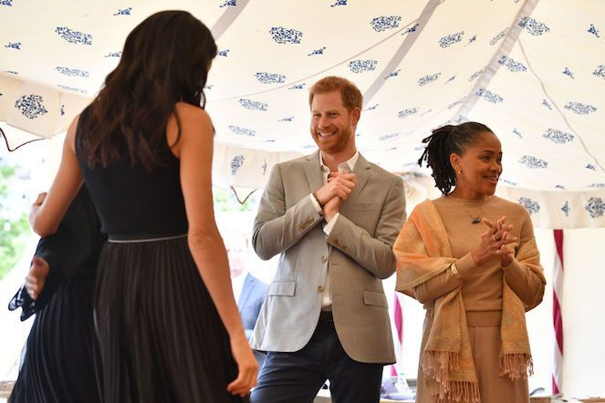 meghan-markle-prince-harry-doria-ragland-Getty-WPA Pool : Pool