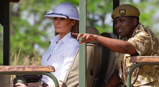 melania trump africa getty images