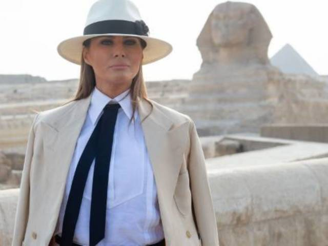 Melania Trump Supports Me Too Movement, but Wants 'Hard Evidence' From Accusers