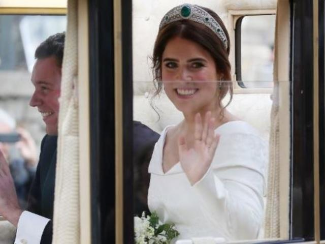 Royal Family Releases Most Romantic Photo From Princess Eugenie's Wedding