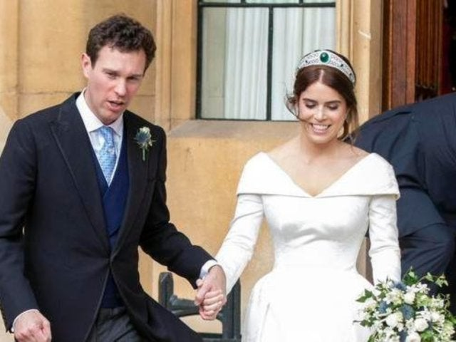 Princess Eugenie Dazzles in Second Wedding Dress for Royal Reception in New Photo