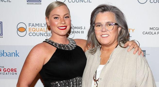 rosie o'donnell elizabeth rooney getty images
