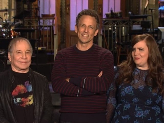 'SNL' Host Seth Myers and Musical Guest Paul Simon Team up for Hilarious New Promos