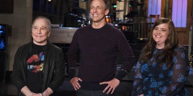 snl paul simon seth meyers nbc