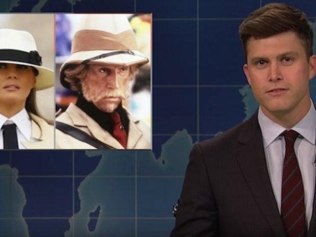 'SNL': 'Weekend Update' Mocks Melania Trump's 'Tone Deaf' Fashion Choices