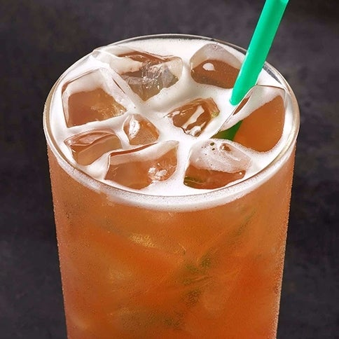 Teavana Shaken Peach Citrus White Infusion Lemonade