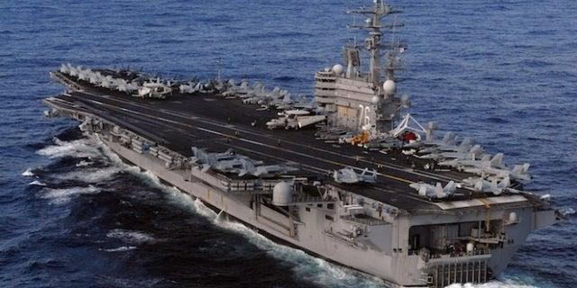 uss-ronald-reagan_getty-US Navy : Handout