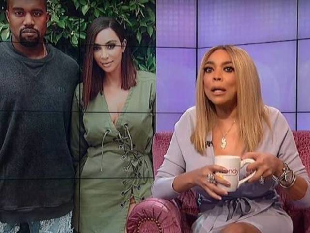 Wendy Williams Goes in on Kim Kardashian, Kanye West During 'Hot Topic' Rant