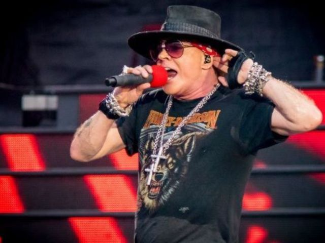 Guns N' Roses Frontman Axl Rose Bashes Donald Trump's Response to California Wildfires