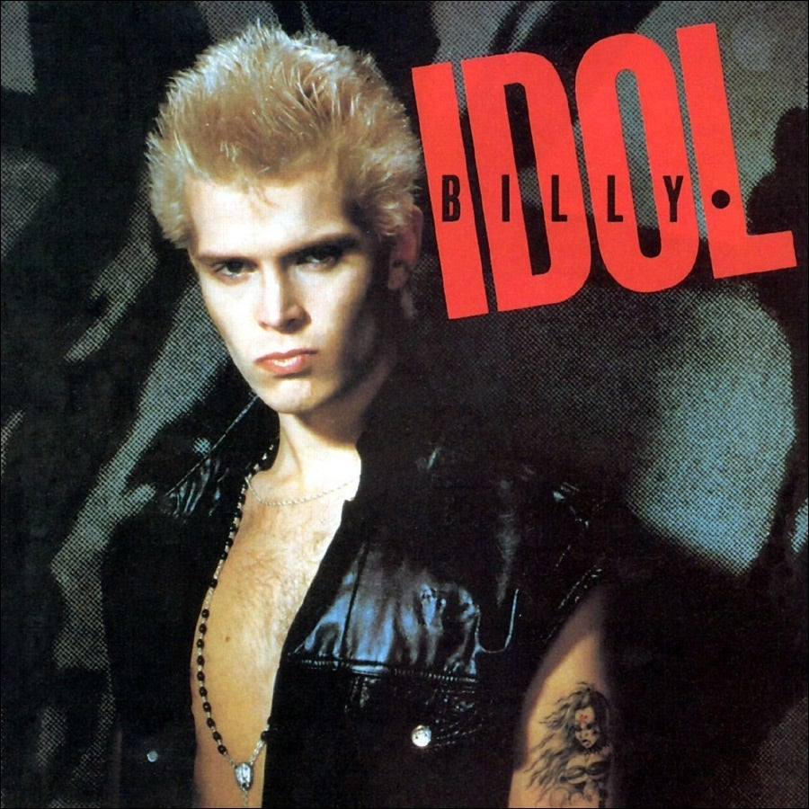 billy-idol-sel-titled-album-Chrysalis-records