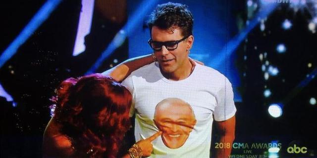 'Dancing With the Stars': Watch Bobby Bones Shock Partner Sharna Burgess With Wardrobe Reveal
