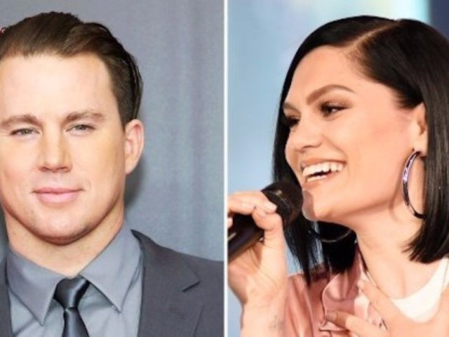 Channing Tatum and Jessie J Slow Dance at 'Magic Mike' Event