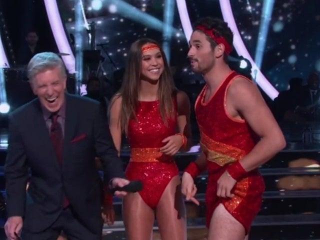 Watch 'Dancing With the Stars' Pair Alexis Ren and Alan Bersten's '80s Aerobics Semi-Finals Dance
