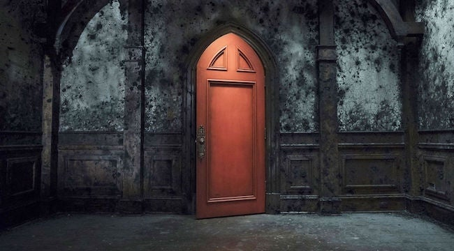 haunting-red-door