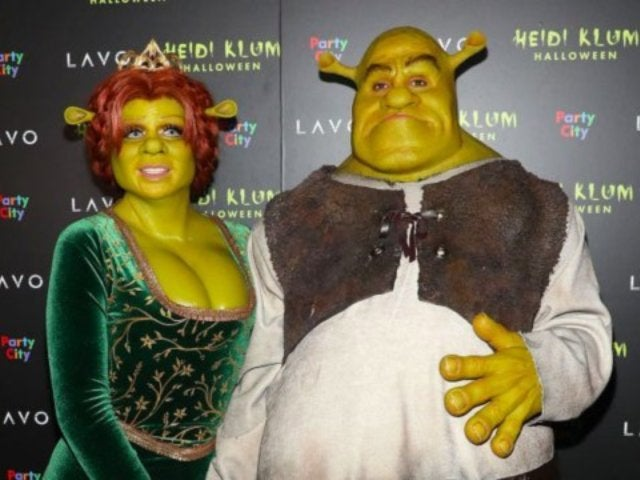 Heidi Klum Dresses as Fiona From 'Shrek' for 2018 Halloween Costume