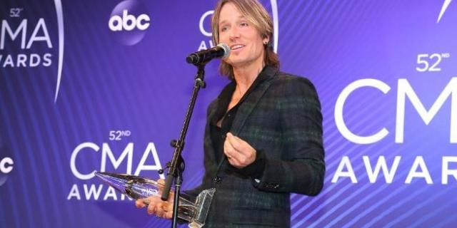 keith urban cmas getty images