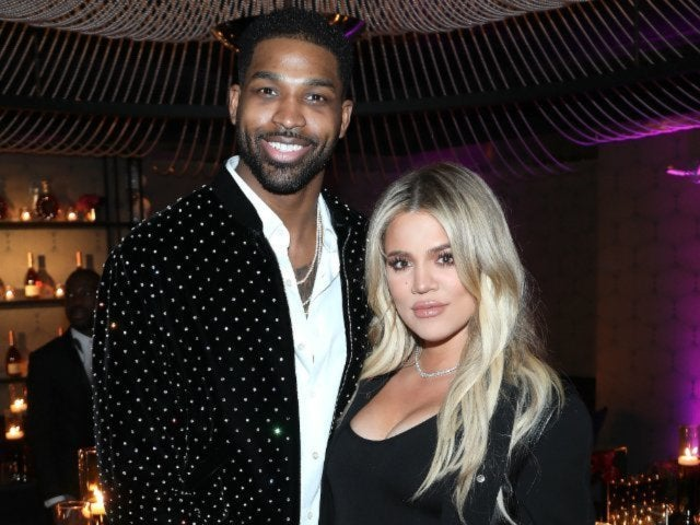 Khloe Kardashian and Tristan Thompson Spotted Reunited Together at True's First Birthday Party