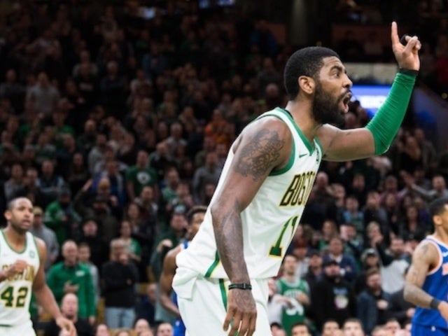 NBA Player Kyrie Irving Admits He Won't Be Celebrating Thanksgiving With NSFW Comment