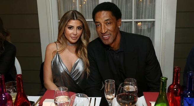 larsa pippen scottie pippen getty images