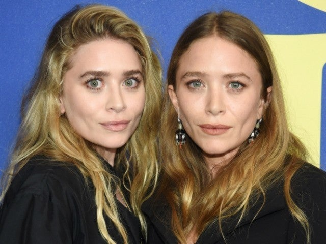 Mary Kate and Ashley Olsen Step out in Black and White for Rare Red Carpet Appearance