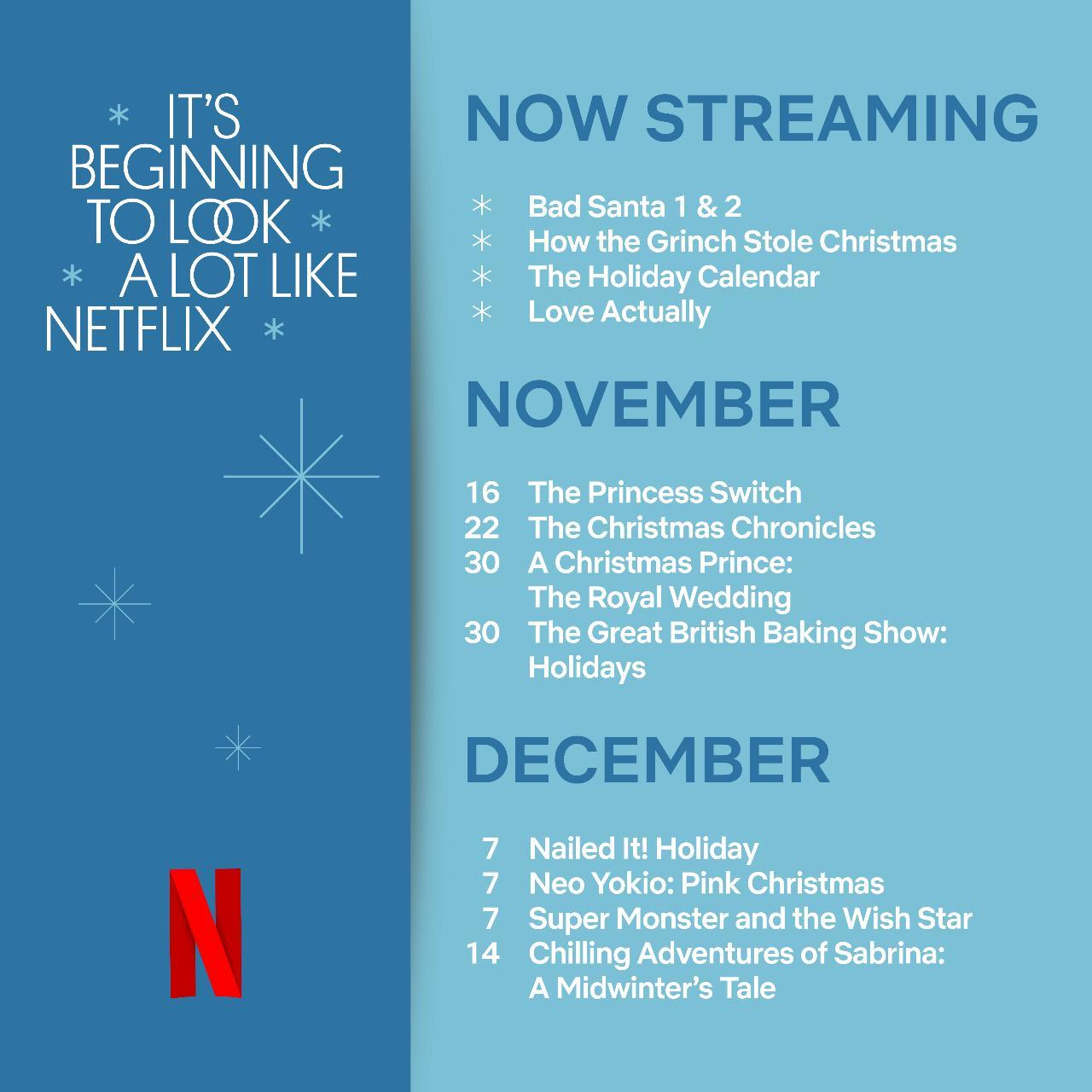 Netflix's Complete Guide To What To Watch This Holiday Season