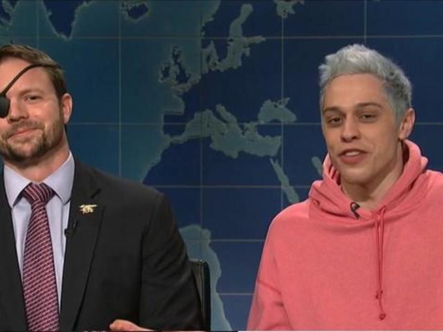 'SNL': Pete Davidson Faces off With Veteran Dan Crenshaw During 'Weekend Update'