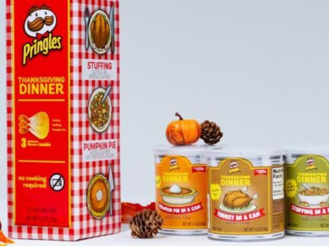 Pringles Unleashes Thanksgiving-Inspired Turkey, Stuffing and Pumpkin Pie Flavored Chips