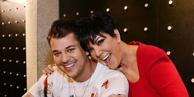 Rob Kardashian Says He Lives in Mother Kris Jenner's Home Now Because of Financial Difficulties
