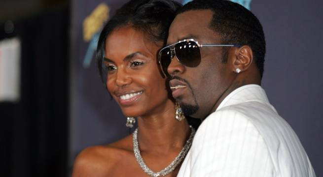 sean combs kim porter 2006 getty images