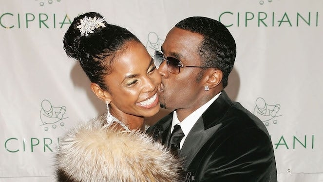 sean-diddy-combs-kim-porter-getty-Peter Kramer : Staff