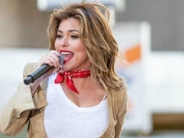 Shania Twain Says She's Peed Herself on Stage