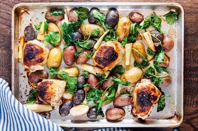 Sheet-Pan-Honey-Mustard-Chicken-Thighs