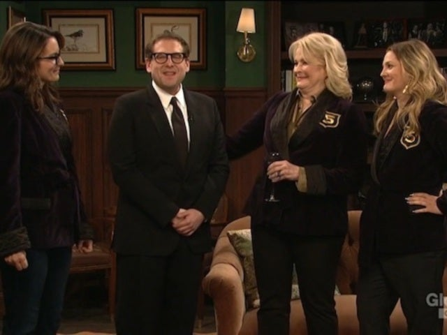 'SNL': Jonah Hill Welcomes Special Guests Tina Fey, Drew Barrymore and Candice Bergen for Opening Monologue