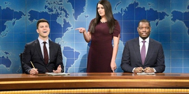 snl-weekend-update-saturday-night-live-colin-jost-michael-che-cecily-strong