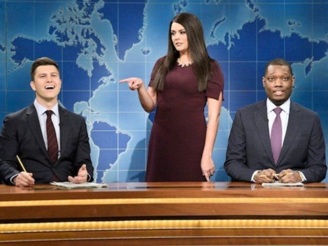 'SNL' Takes on White House Intern's Clash With CNN's Jim Acosta During 'Weekend Update'