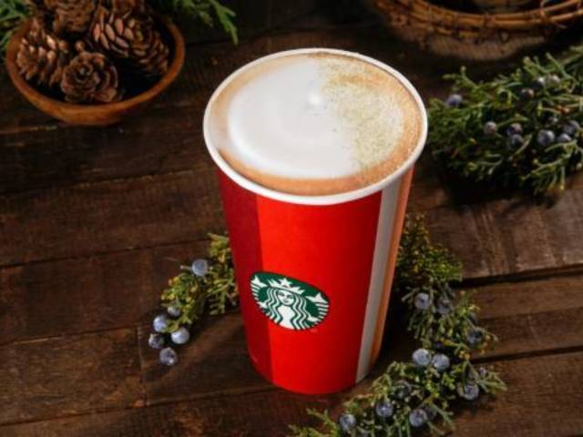 Starbucks Debuts New Winter Christmas Tree-Inspired Drink