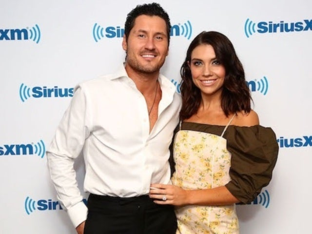 'DWTS' Val Chmerkovskiy's Wife Jenna Johnson Chops off His Ponytail, Gives Him Buzz Cut in Quarantine Haircut Video