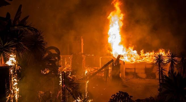 woolsey fire getty images