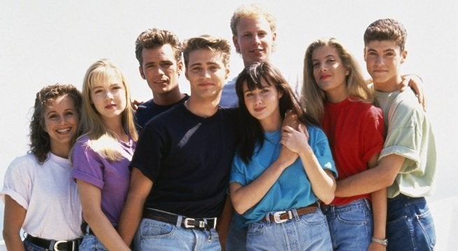 90210 cast getty images